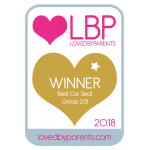 Loved by Parents - Best Car Seat Group 2/3 - GOLD
