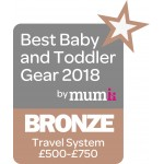 BBTG Awards - Best Travel System £500-£700 - BRONZE