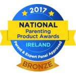 National Parenting Product Awards Ireland 2017 - BRONZE