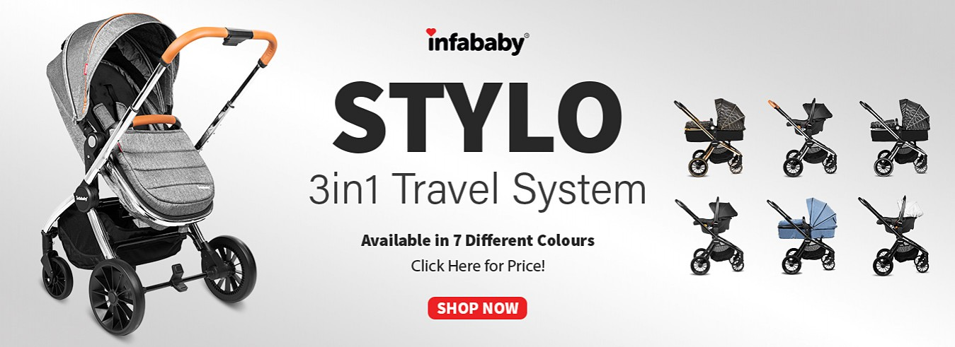 Infababy Stylo 3 in 1 Travel System
